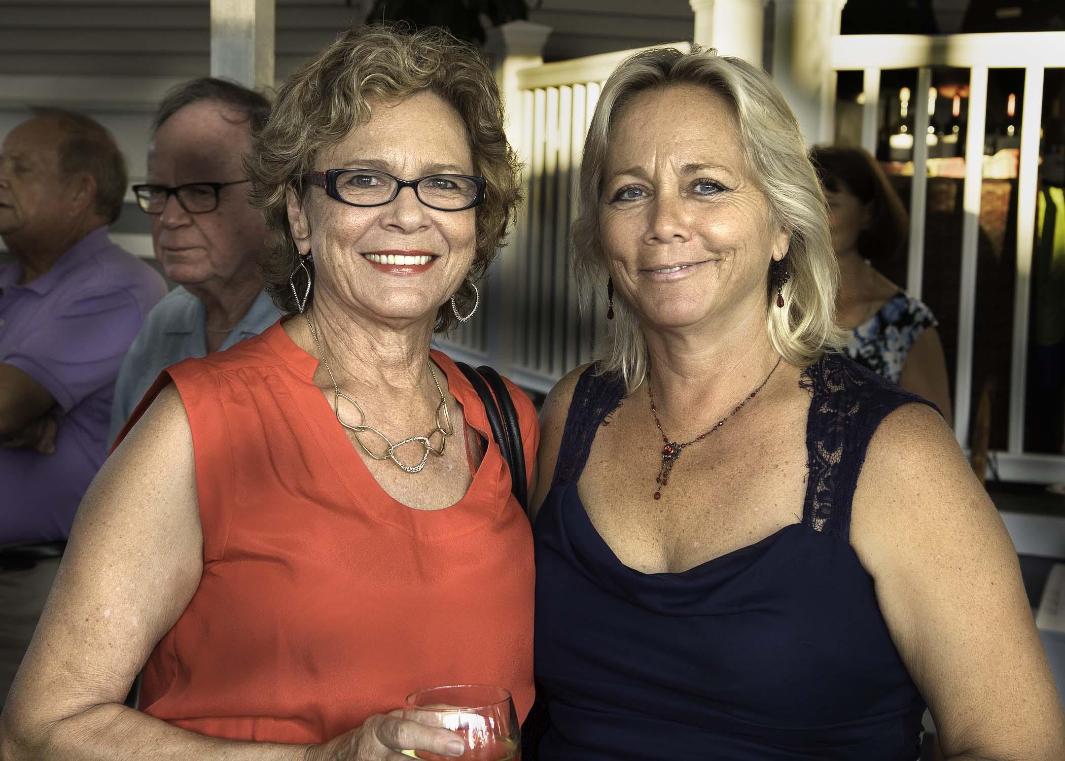 (L-R) Gloria Krekel and Debi Almeida