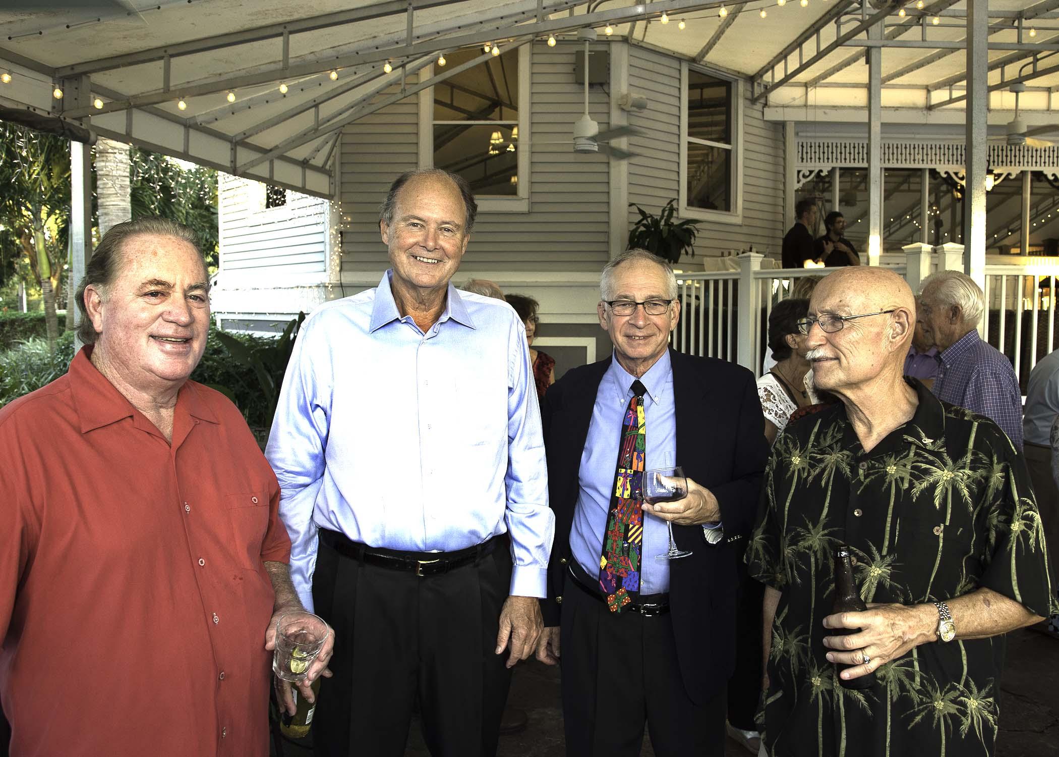(L-R) Bruce Cochrane, Roger Grogman, Bill Sartoris, Kurt Peters