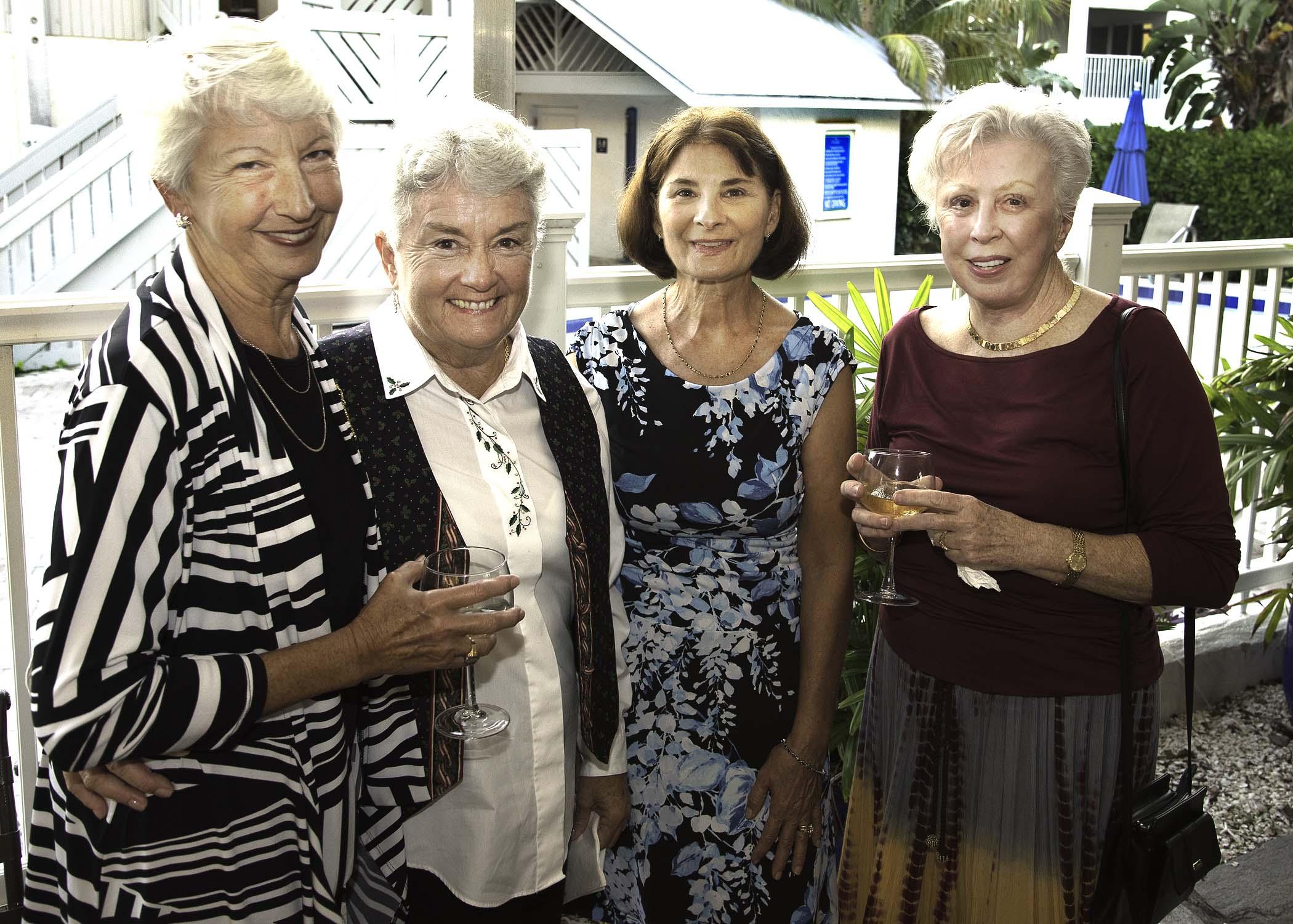(L-R) Karen Sartoris, Lyn Kern, Irene Nolan, Patricia Macchia