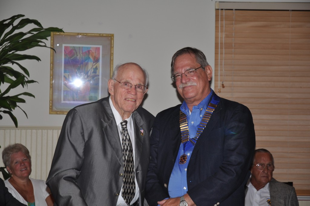 Lions Francis Bailey and Rick Siders