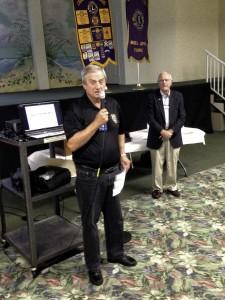 Lion Joe Smaha Introduces Dr O'Donnell