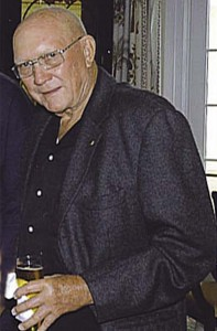 Lions Treasurer Les Forney